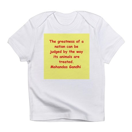 gandhi quote Infant T-Shirt