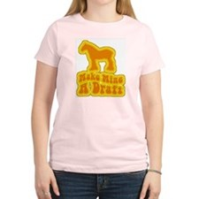Make Mine A Draft -retro- Women's Pink T-Shirt