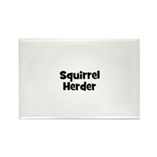 Squirrel Herder Rectangle Magnet (10 pack)
