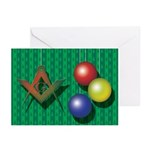 Ornaments Greeting Cards (Pk of 20)