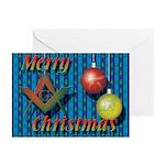Merry Masonic Christmas Greeting Cards (Pk of 10)