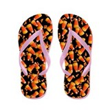 Candy Corn - Flip Flops