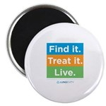 Find It Treat It Live Magnet