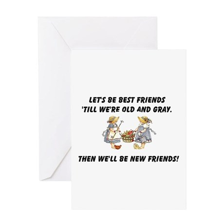 Old New Friends Greeting Card