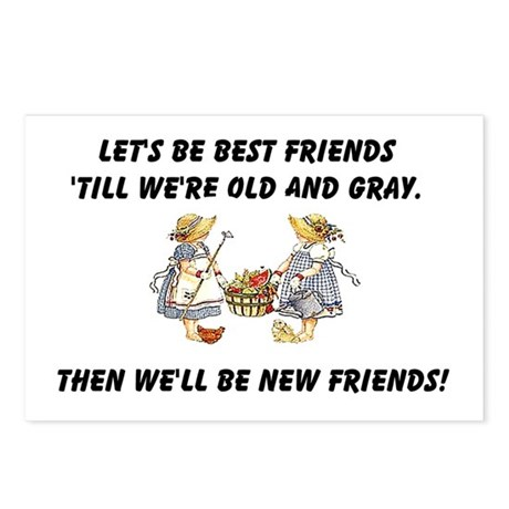 Old New Friends Postcards (Package of 8)