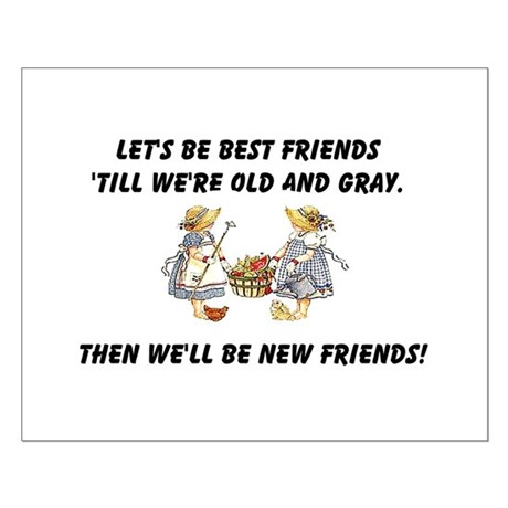 Old New Friends Small Poster