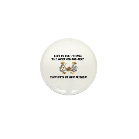 Old New Friends Mini Button (100 pack)
