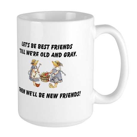 Old New Friends Large Mug