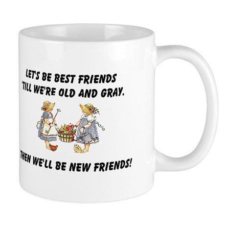 Old New Friends Mug