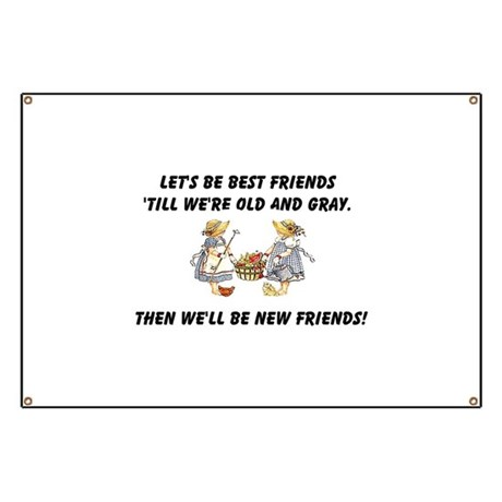 Old New Friends Banner