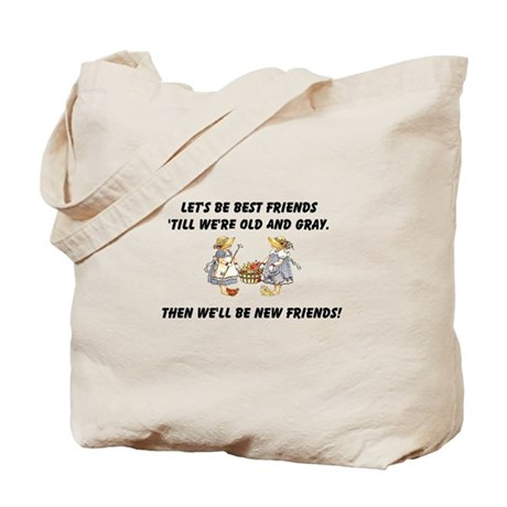 Old New Friends Tote Bag