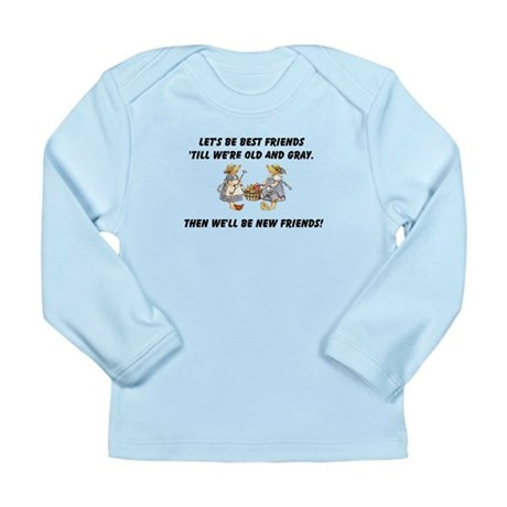 Old New Friends Long Sleeve Infant T-Shirt