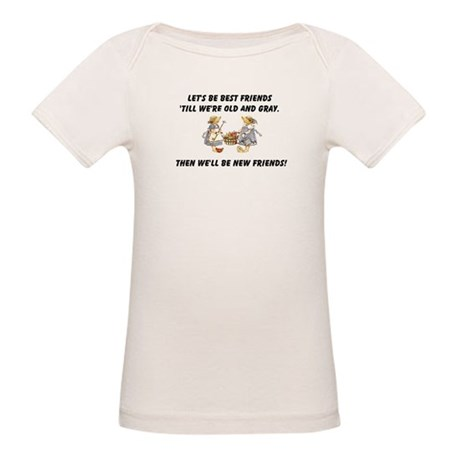 Old New Friends Organic Baby T-Shirt