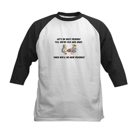 Old New Friends Kids Baseball Jersey