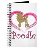 Heart My Poodle Journal