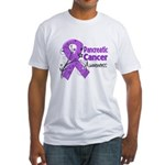 Pancreatic Cancer Awareness Fitted T-Shirt