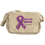 Pancreatic Cancer Awareness Messenger Bag