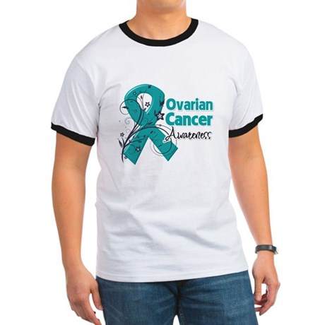 Ovarian Cancer Awareness Ringer T