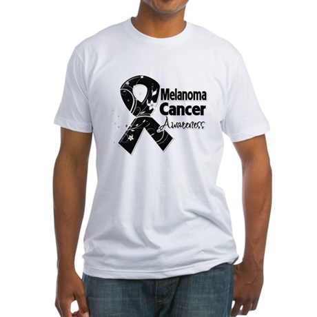 Melanoma Awareness Fitted T-Shirt