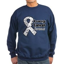 Lung Cancer Awareness Sweatshirt