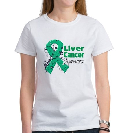 Liver Cancer Awareness Women's T-Shirt