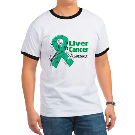 Liver Cancer Awareness Ringer T