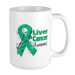 Liver Cancer Awareness Large Mug