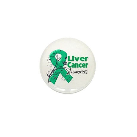 Liver Cancer Awareness Mini Button (100 pack)