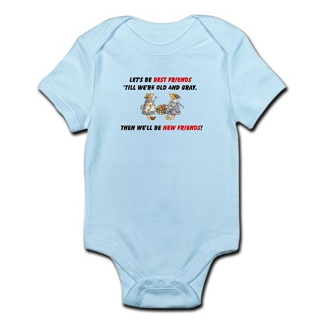 Old New Garden Friends Infant Bodysuit