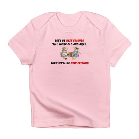 Old New Garden Friends Infant T-Shirt
