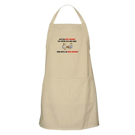Old New Garden Friends Apron