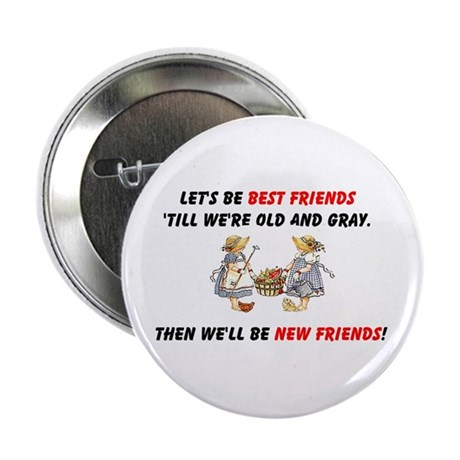 Old New Garden Friends 2.25&quot; Button (100 pack)