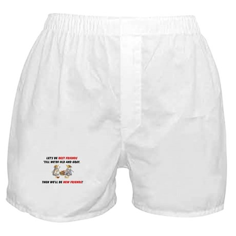 Old New Garden Friends Boxer Shorts