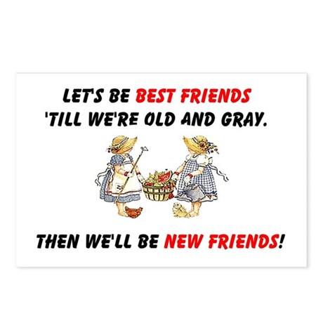 Old New Garden Friends Postcards (Package of 8)
