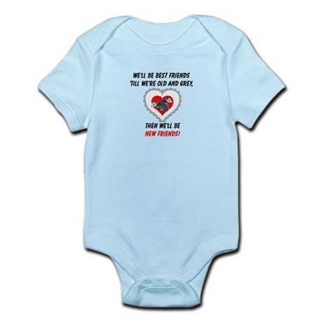 Old New Possum Friends Infant Bodysuit