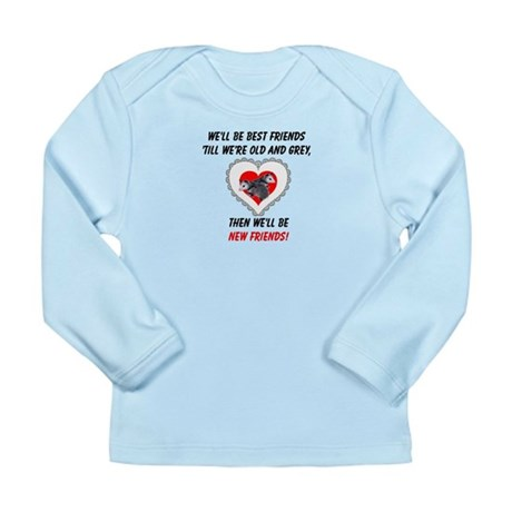 Old New Possum Friends Long Sleeve Infant T-Shirt