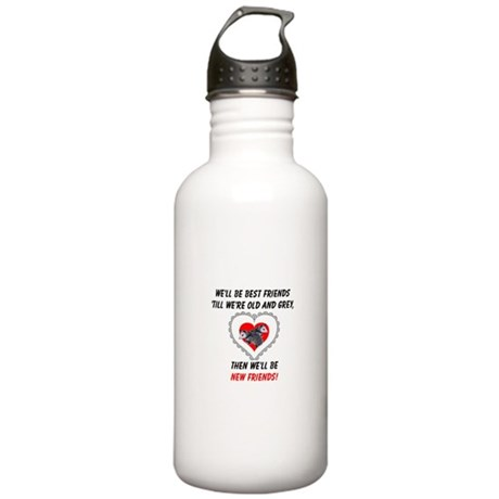 Old New Possum Friends Stainless Water Bottle 1.0L