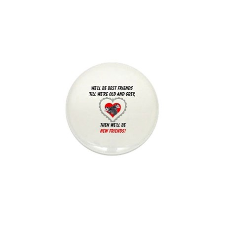 Old New Possum Friends Mini Button (100 pack)
