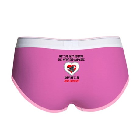 Old New Possum Friends Women's Boy Brief