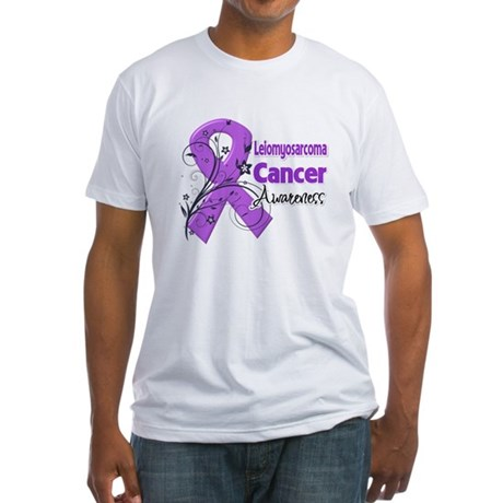 Leiomyosarcoma Awareness Fitted T-Shirt