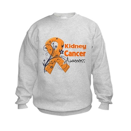 Kidney Cancer Awareness Kids Sweatshirt