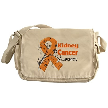 Kidney Cancer Awareness Messenger Bag