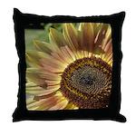 Autumn Sunflower Throw Pillow