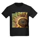 Autumn Sunflower Kids Dark T-Shirt