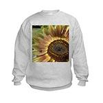 Autumn Sunflower Kids Sweatshirt