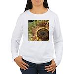 Autumn Sunflower Women's Long Sleeve T-Shirt