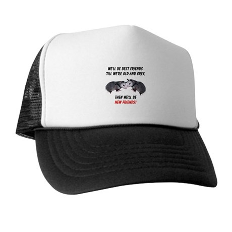 Old New Possum Friends Trucker Hat