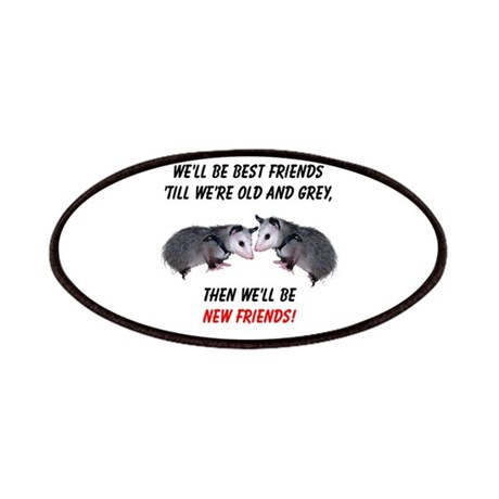 Old New Possum Friends Patches