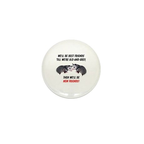 Old New Possum Friends Mini Button (10 pack)