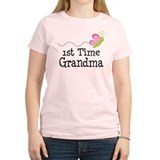 1st Time Grandma Butterfly T-Shirt